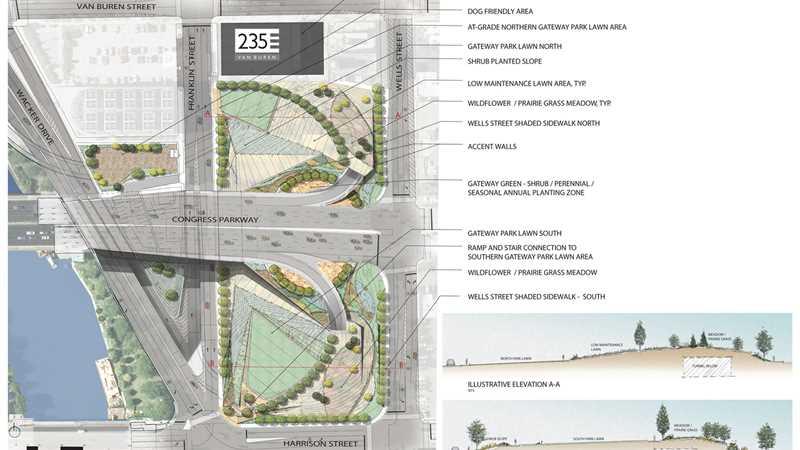 An updated look at Wacker Gateway Park