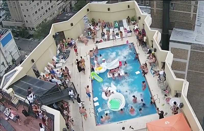 Rent now to attend the city's best pool party