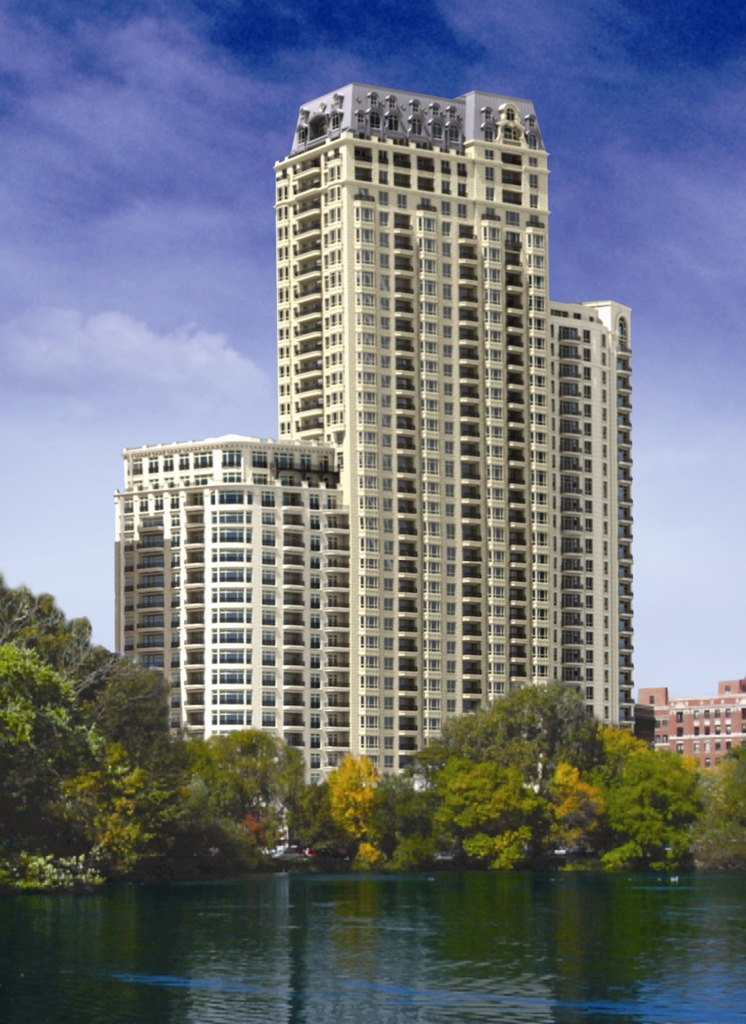 Design for Lincoln Park 2520 condo tower travelled back in time
