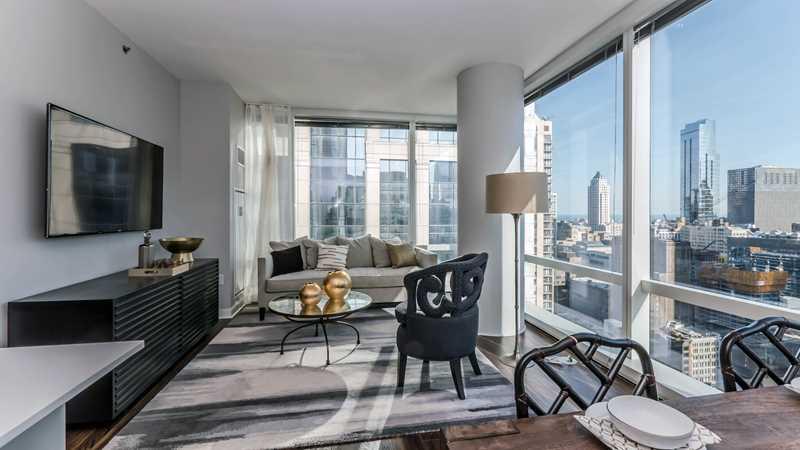 Two-bedroom corner apartments at OneEleven showcase livability and style