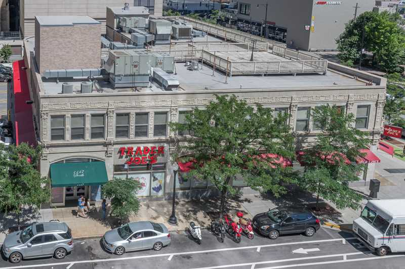 Trader Joe's, viewed from Eleven40, Chicago