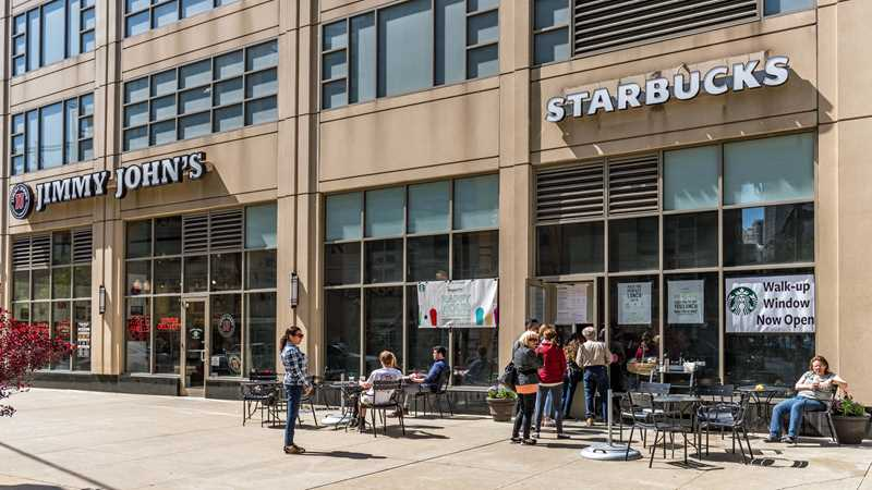 Starbucks, Jefferson & Lake, Chicago