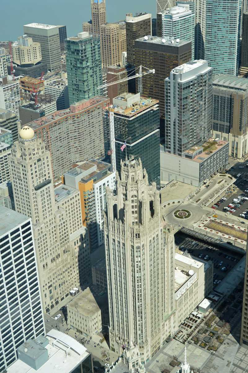 Four new apartment towers, viewed from Trump Tower
