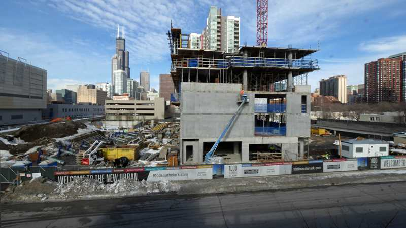 A visit to three new South Loop apartment sites
