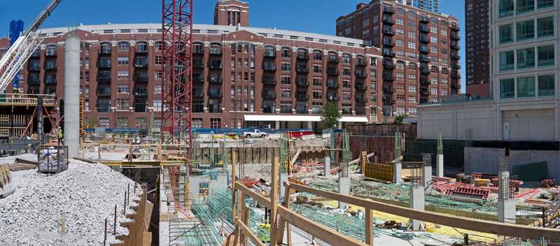 Construction checkup – 360 West Hubbard in River North