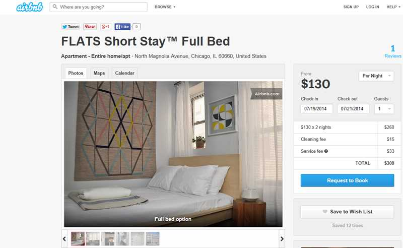 Are Flats Chicago's Short Stay apartments properly licensed?