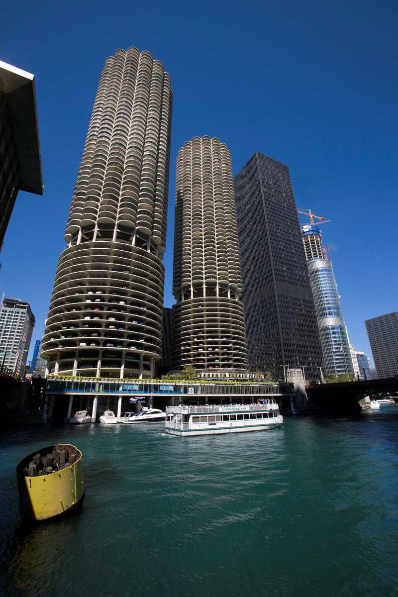 Marina City, River North, Chicago, Kardas Photography