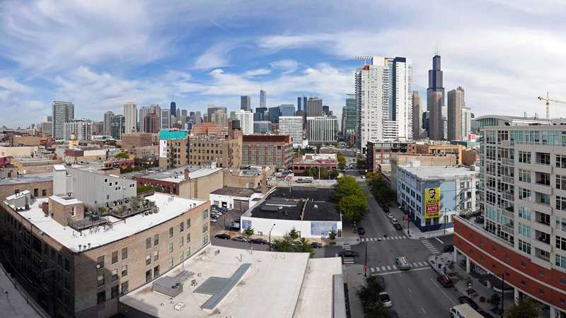New West Loop apartments with great views