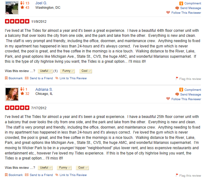 Yelp deleting negative reviews