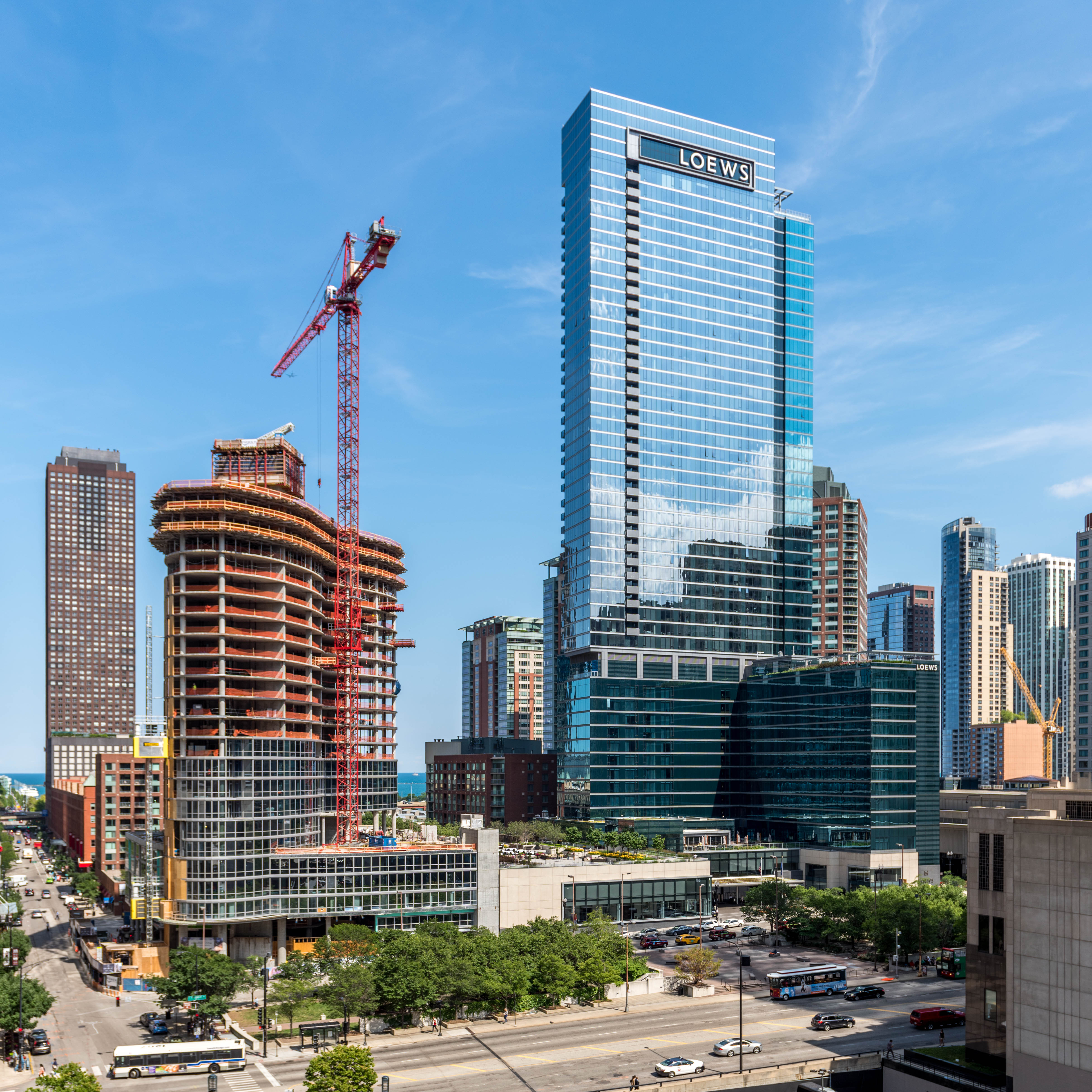 Northpark Residences: 465 North Park Apartments, 465 N Park Dr, Streeterville