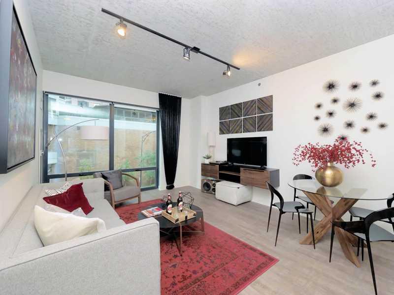 Sienna Flats 1-bedroom model, Chicago