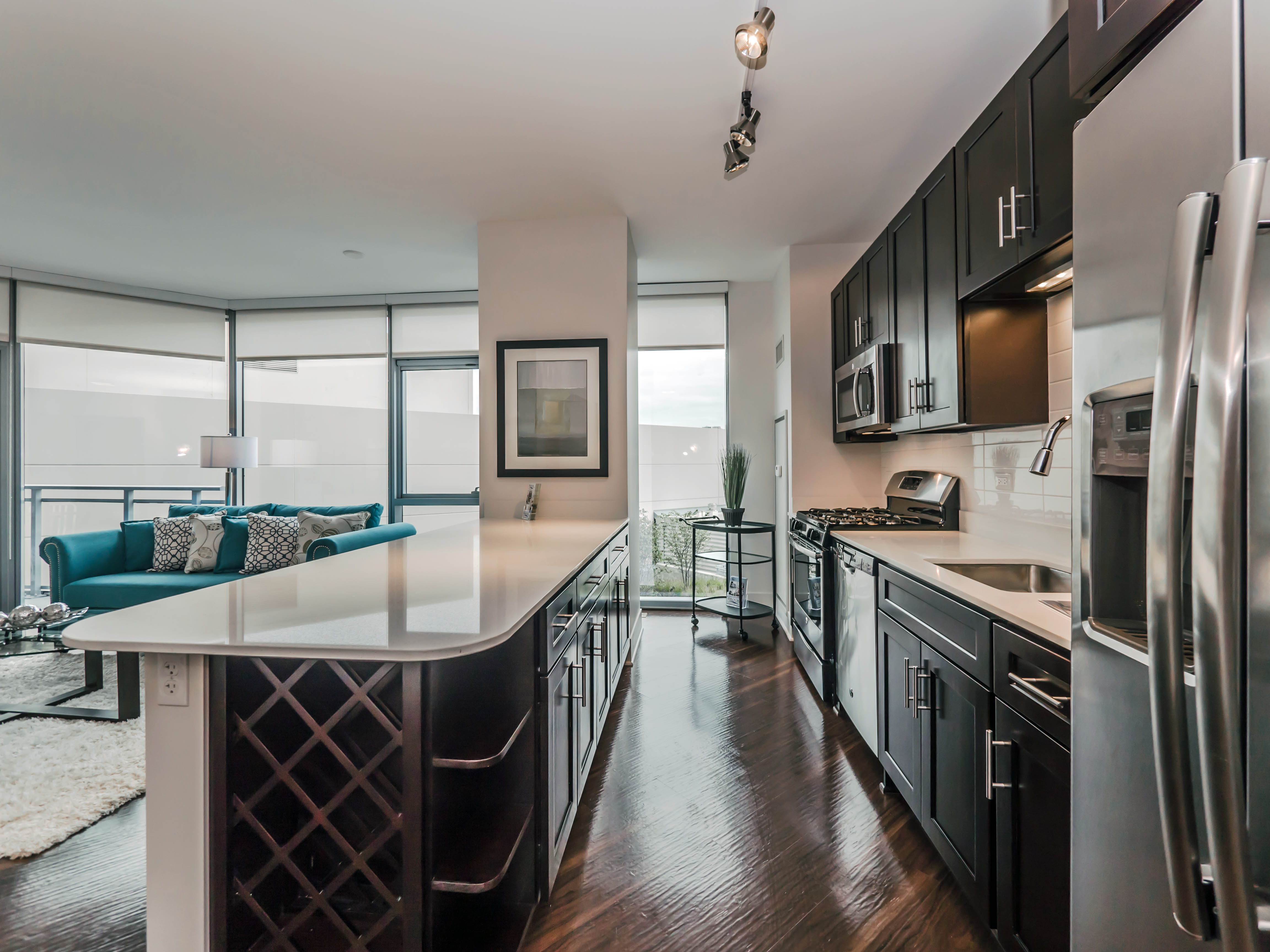 The. Tour a one bedroom plus den at the new New City apartments   YoChicago