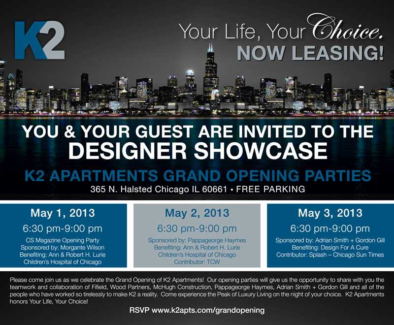 Randy Fifield reports K2 pool open, Designer Showcase May 1, 2 and 3