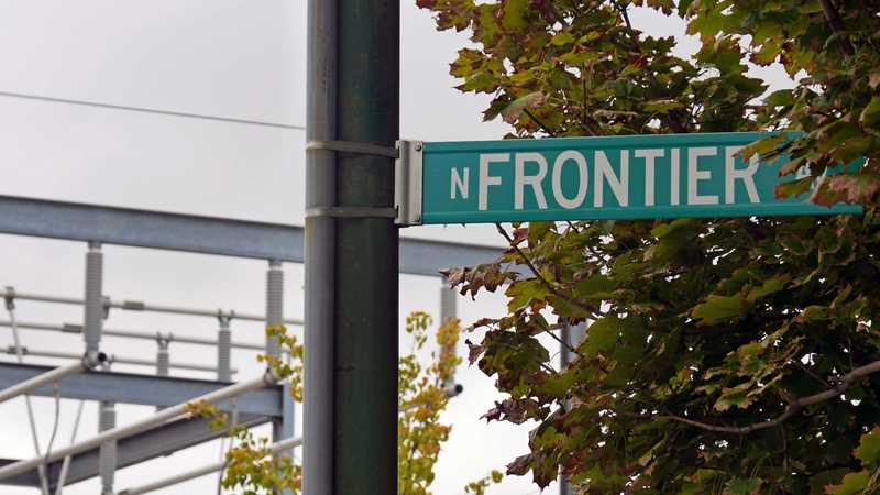 Chicago's aptly-named Frontier Ave