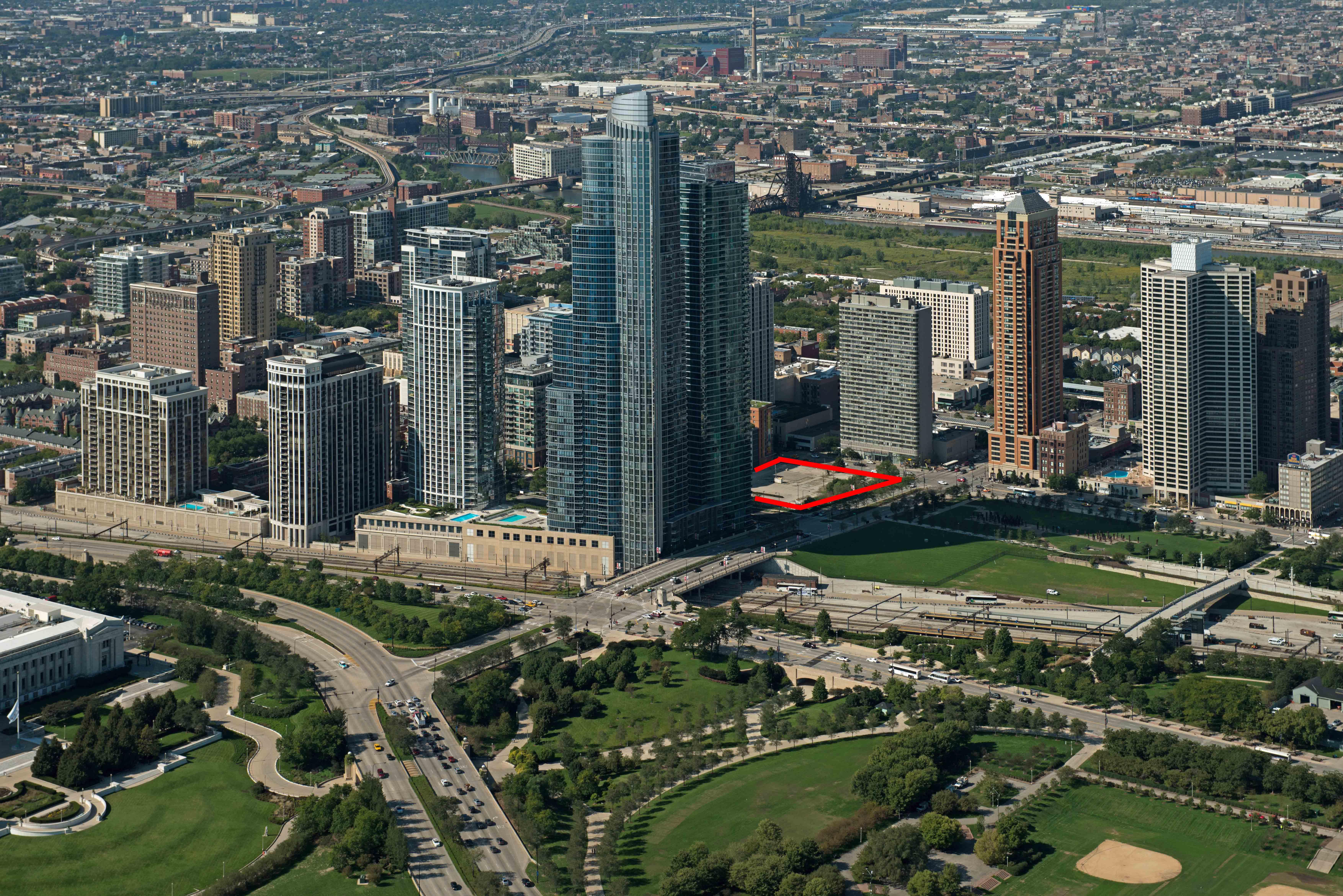 Crescent Heights Acquires  Acres Of South Loop Land  YoChicago - Chicago map south loop