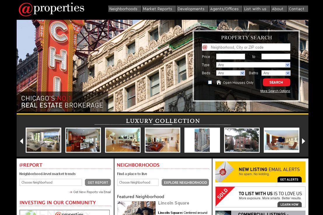 Web presence: @properties.com