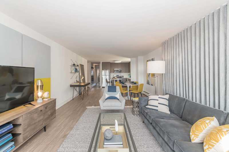 Stylishly-updated apartments steps from Lincoln Park at WAVE Lakeview