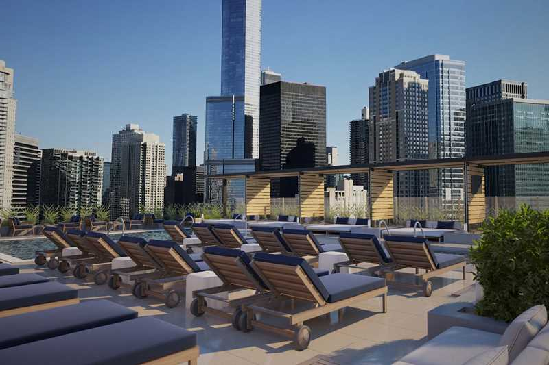 SixForty rendering, Chicago