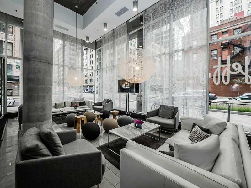 The distinctive loft design of JeffJack apartments