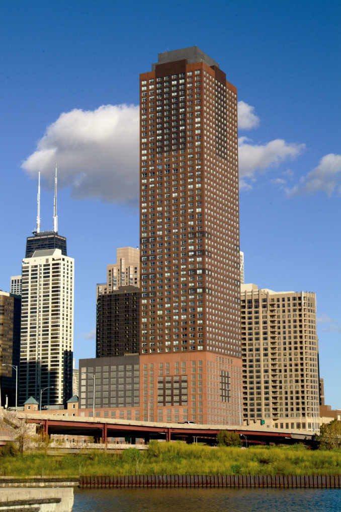 The busiest buildings in Streeterville