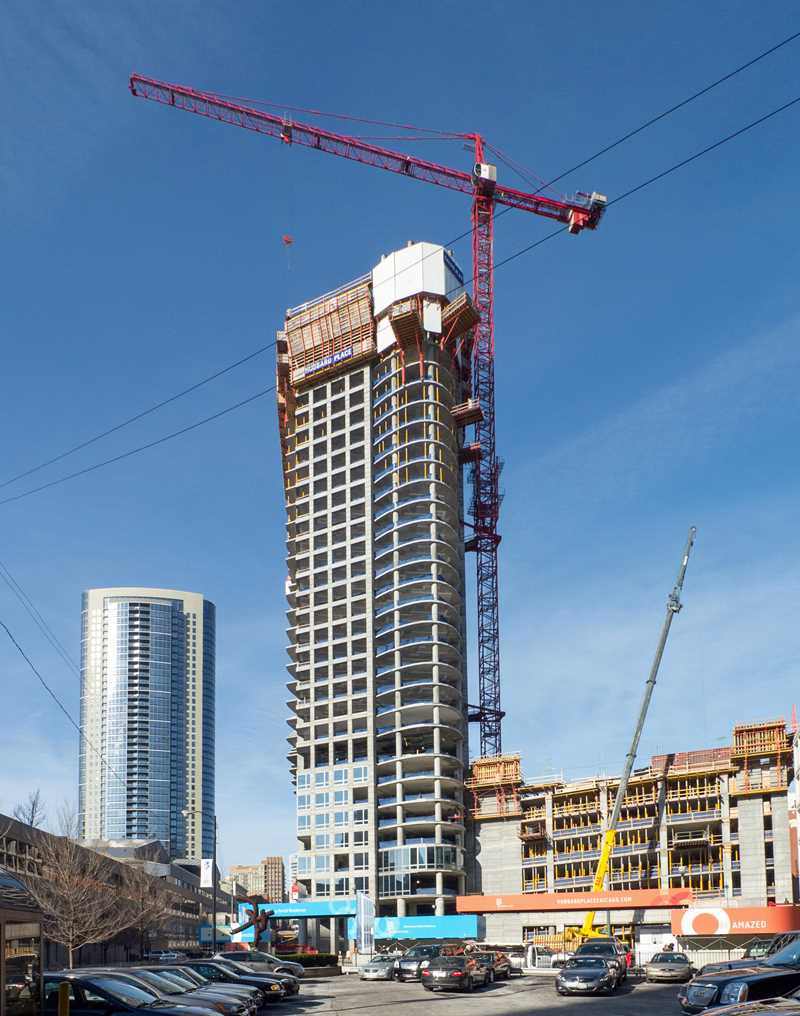 Hubbard Place apartments rising rapidly, targeting October occupancy