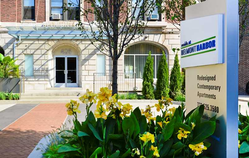 Reside at Belmont Harbor apartments, 426 W Belmont Ave, Lakeview East