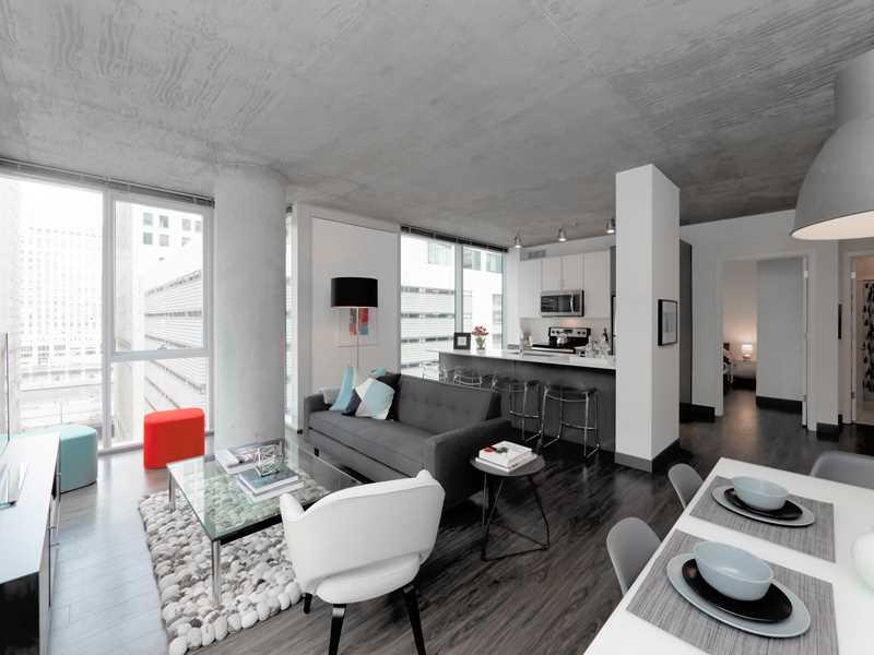 2-bedroom model, Linea, Chicago