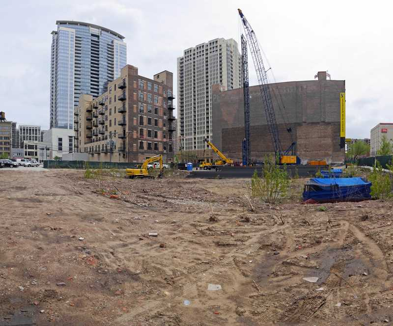 Construction update – 1345 Wabash condos in the South Loop