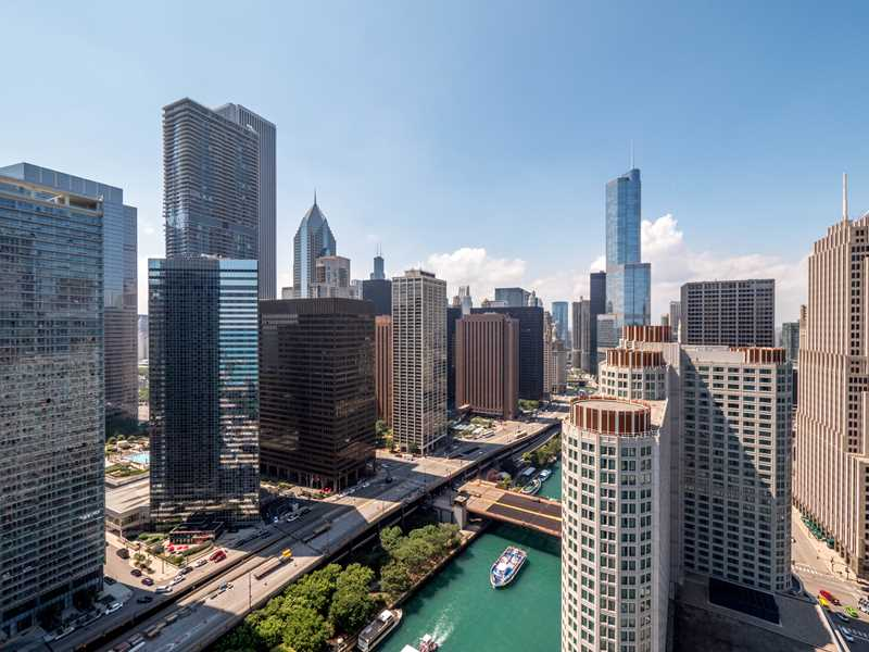 Spacious apartments just off Michigan Avenue from $1,400 a month