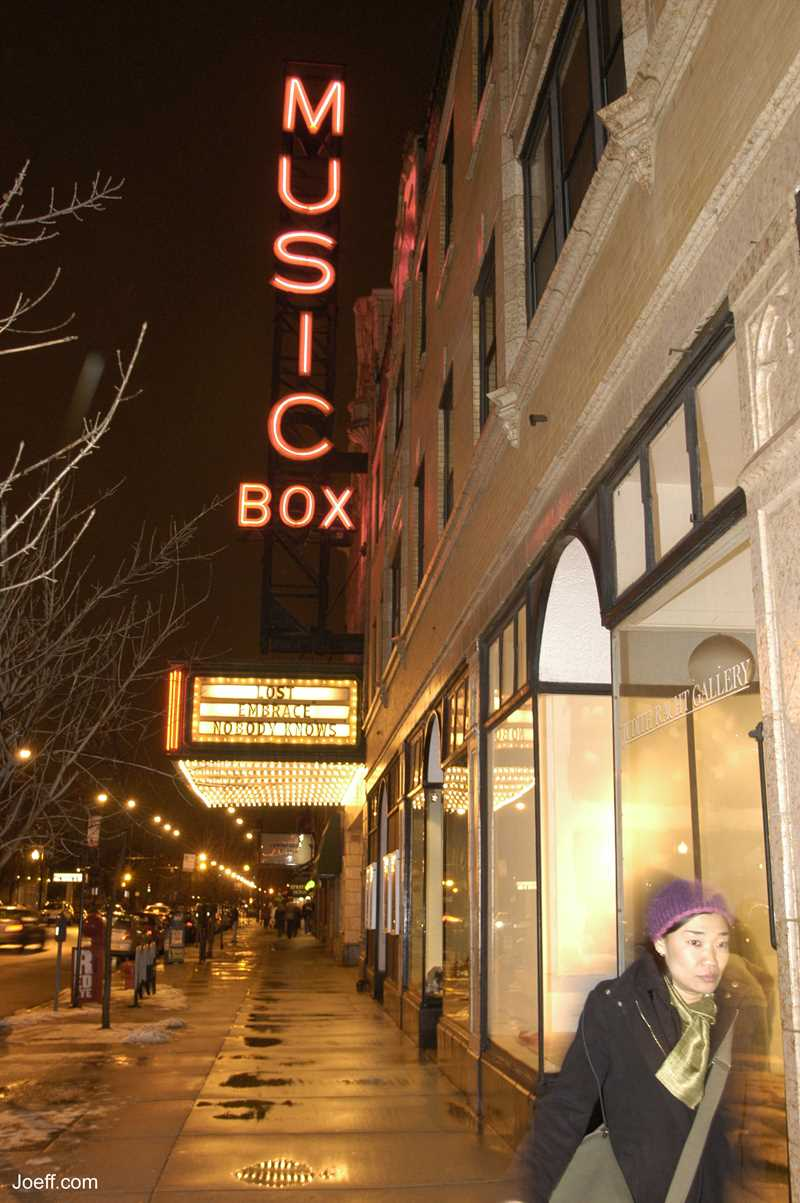 Joeff Davis photo, Music Box theater, Chicago, IL