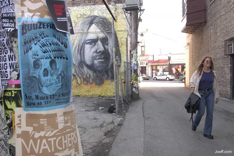 Joeff Davis photo, Murals at The Alley, Chicago, IL