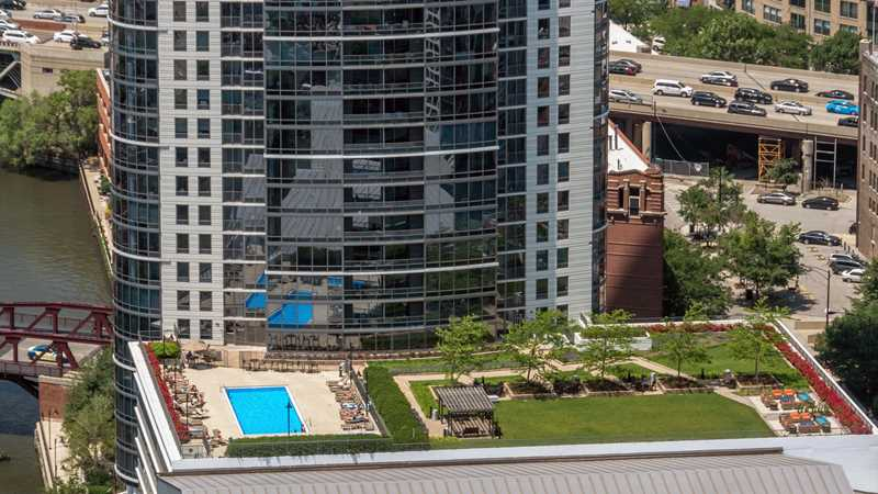 Kingsbury Plaza pool deck