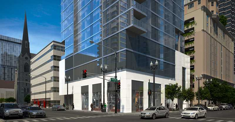 8 East Huron, Chicago, rendering