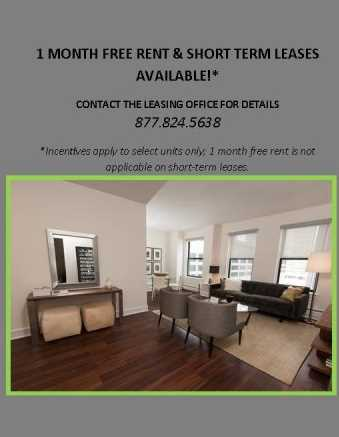 Rental deal of the day – a free month's rent at The Seneca