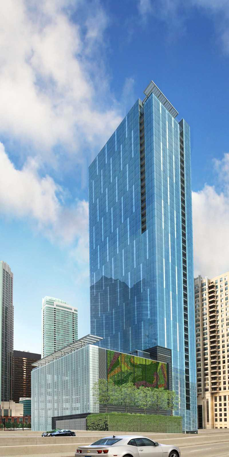 Ground broken for 500 Lake Shore Drive apartment tower