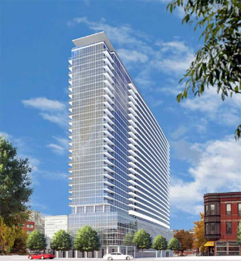 Next apartments, 347 W Chestnut St, River North