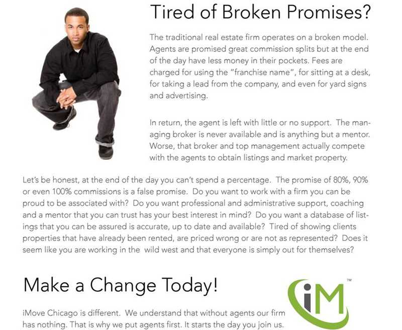 iMove Chicago asks whether you're tired of broken promises?