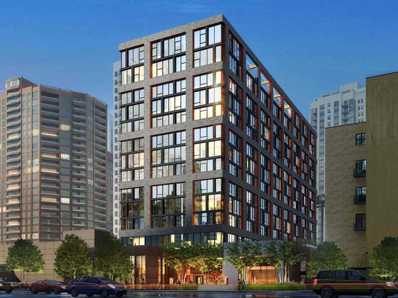 Feel the fun and friendly vibe at the hot West Loop's new EMME apartments