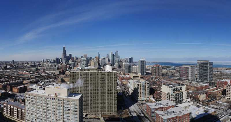 The panoramic views from The LEX apartments