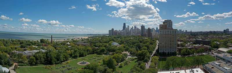 Rent or buy fabulous views overlooking Lincoln Park
