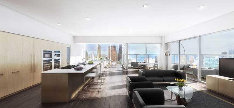 Optima Signature rendering, Chicago