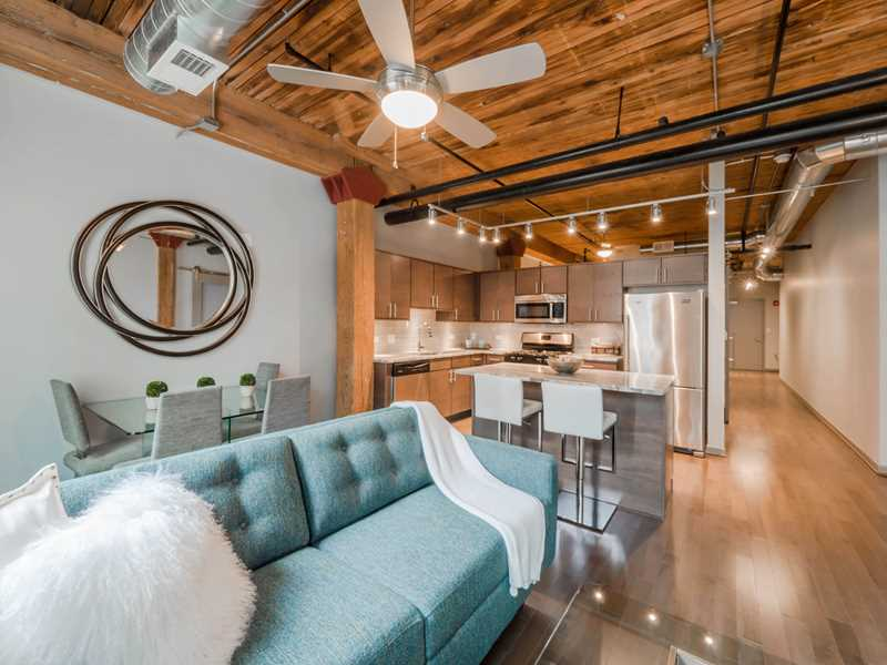 Terrific 2-bedroom rent deals at The Lofts at River East