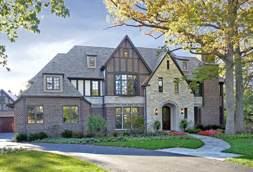 cbi custom homes builds 3 9 million tudor in glencoe yochicago