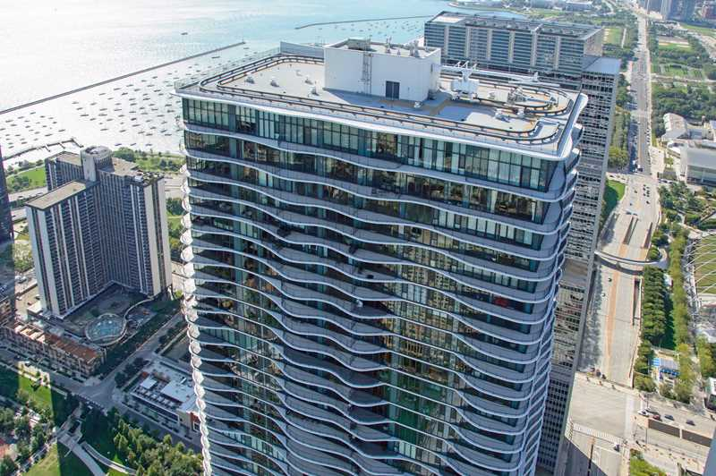 Aqua's underutilized high-floor balconies