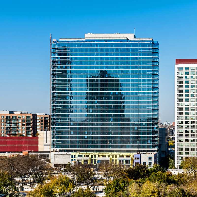 Leasing office opens at the South Loop's newest apartment tower
