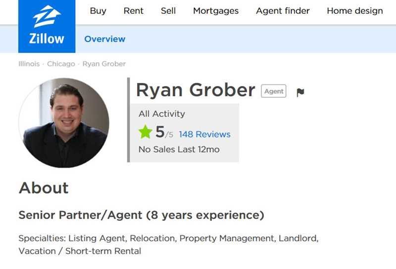 Ryan Grober, Chicago Residential Group