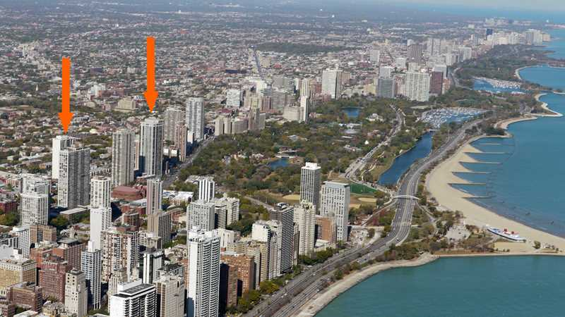 Lincoln Park rental deals, Americana Towers and Eugenie Terrace