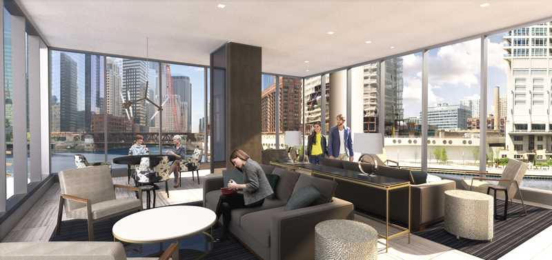 Enjoy the riverfront at new Wolf Point West apartments