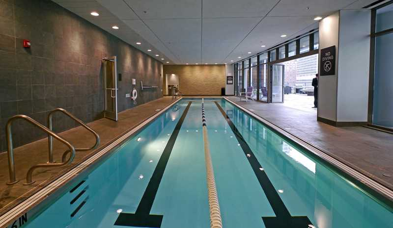 Oakwood 200 Squared raises the bar on rental amenities in Chicago's Loop