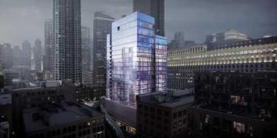 River North's new Hubbard221 is leasing for November occupancy